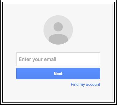 Entrar em sua Conta do Google