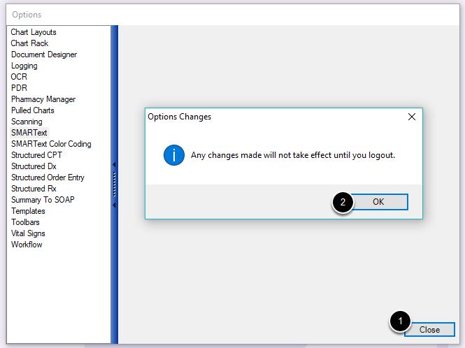 Finalize Changes