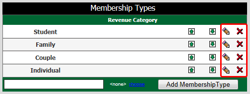Added Membership Type