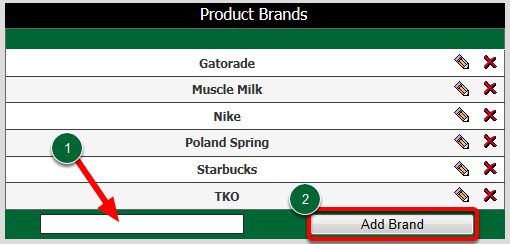 Product Brands
