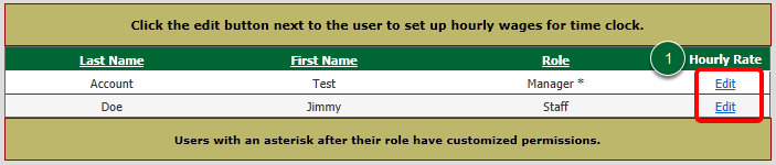 Select a User