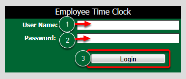 Employee Time Clock