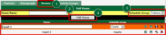 Create a Venue