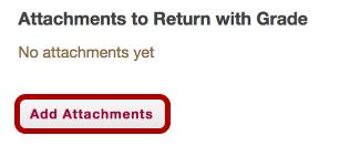Return an attachment.