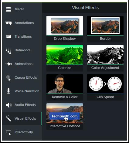Visual effect tools
