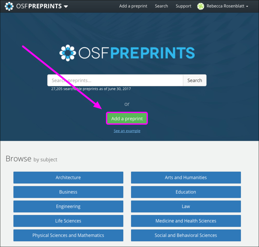 OSF Preprints