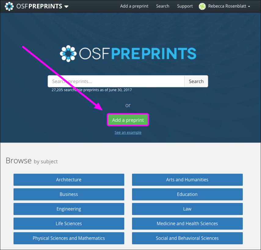 OSF Preprints