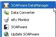 Start the SOAPware Data Manager