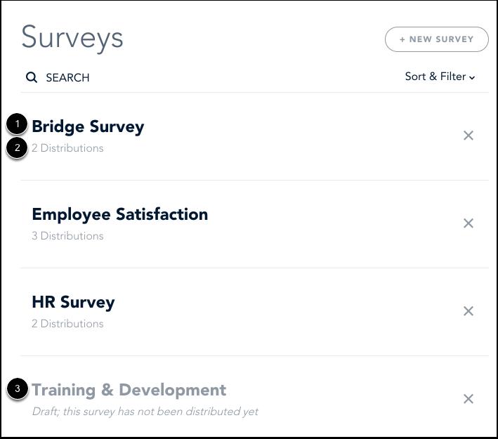 View Surveys