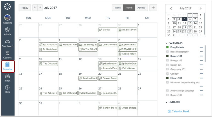 Visualizar Agenda