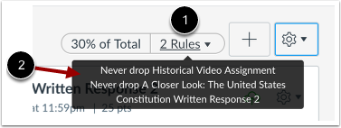 Visualizar Regras do Grupo de Tarefa