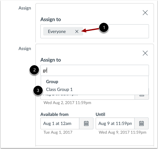 Assign to Group Only