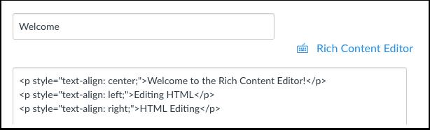 Enter Content
