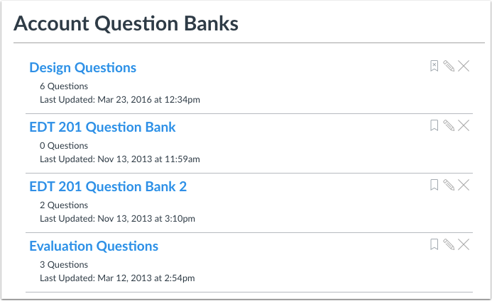 When Would I Use Account-Level Question Banks?