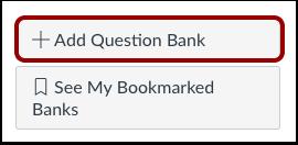 Add Question Bank