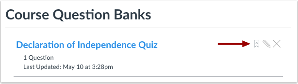 Unbookmark Question Bank