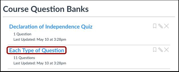 Open Question Bank