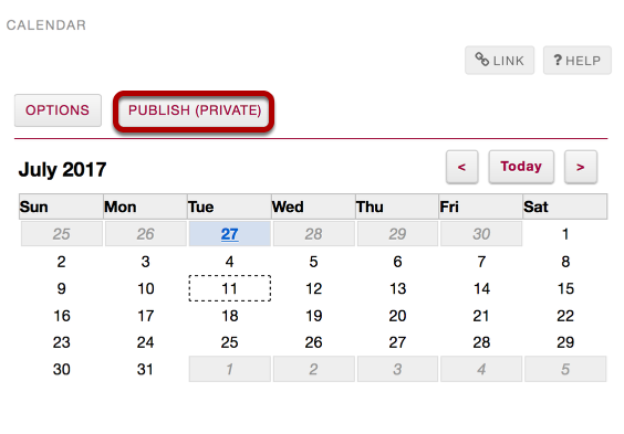 Subscribe to your Home Calendar from another application.