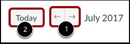 Visualizar Calendário por Mês