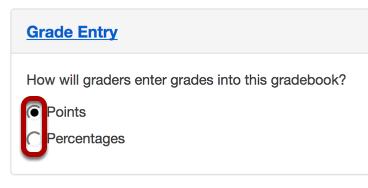 Grade Entry.