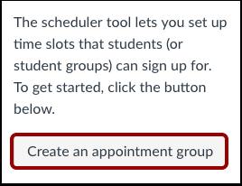 Criar um Grupo de Compromisso