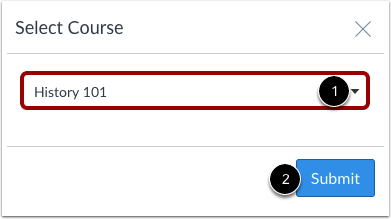Select Course
