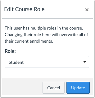Edit Multiple Roles
