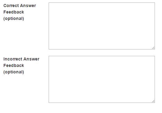 Provide answer feedback. (Optional)