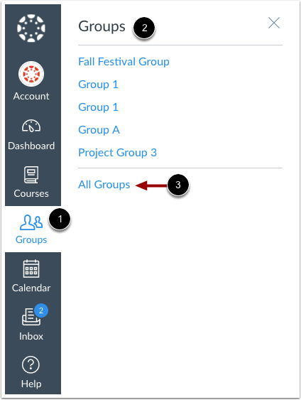 Open Groups