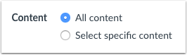 Importar contenido