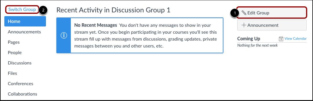 Edit Group Details