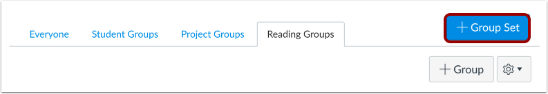 Add Group Set