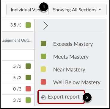 Exportar Relatório