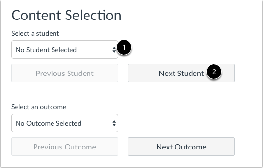 Select Student