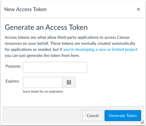 Obtain API Access Token