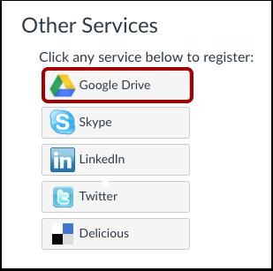 Registrar Google Drive