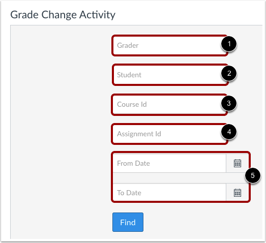 Search for Grade Change