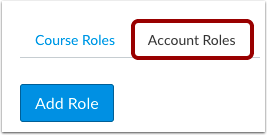 Click Account Roles Tab