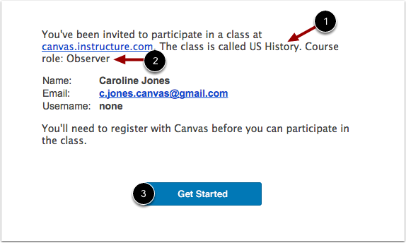 Receive Email Invitation