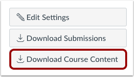 how to download canvas course
