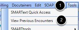 Access Encounter Viewer Dialog