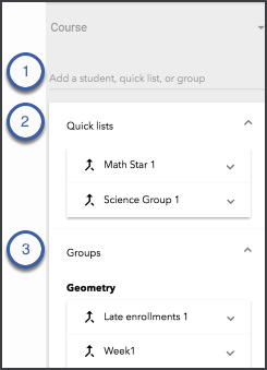 Add students inside the Clipboard