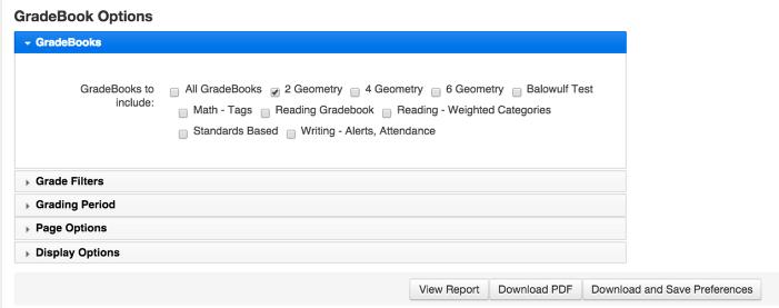 gradebook download