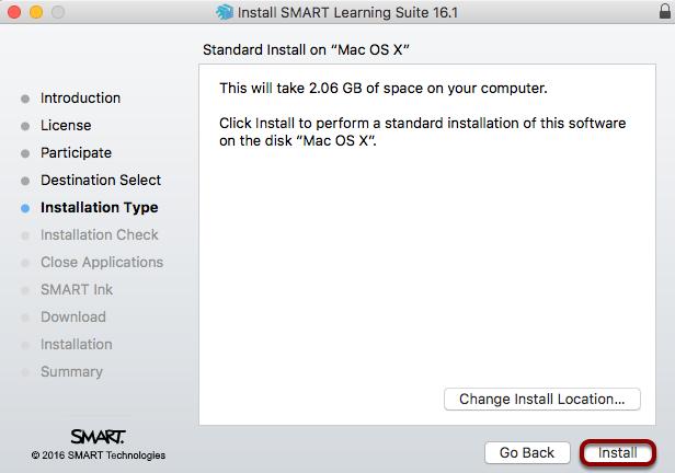 "Click ""Install"""