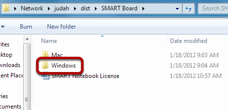 Open Windows Folder