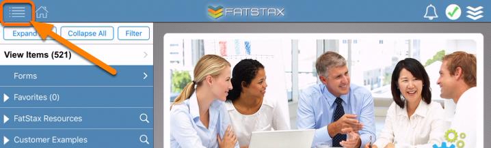 Update the User Password in FatStax.