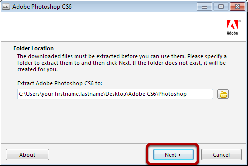 Adobe photoshop cs6 free download with crack file