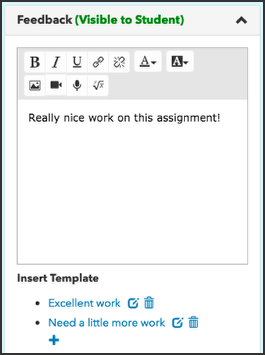 How Do I Create And Use Feedback Templates With Replacement