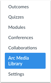 Open Arc Media Library