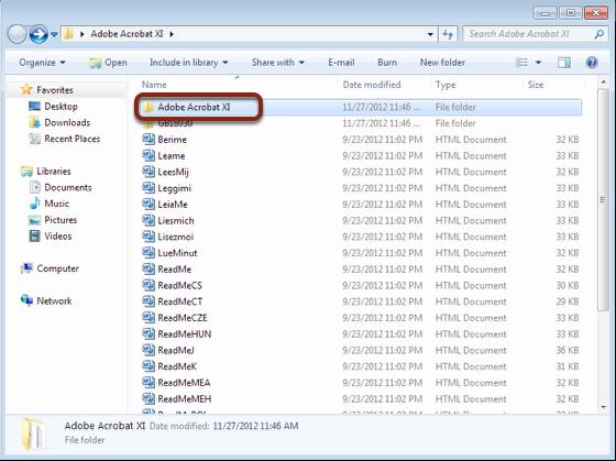 Open the Installer folder